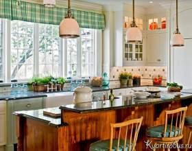 Біла кухня в стилі кантрі (4 фото) фото