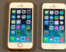Чим відрізняється айфон 5 від 5s? фото