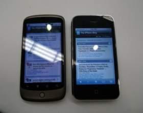 Що краще iphone або htc? фото