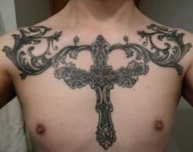 Що означає татуювання хрест? фото