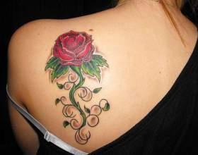 Що означає татуювання троянда? фото