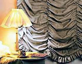 Французькі штори (11 фото) фото