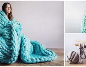 Ці товсті і затишні ковдри, які легко зробити самому, ідеальні для зими фото