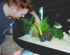 Як чистити акваріум? фото