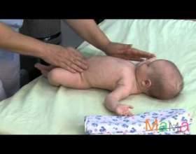 Як робити масаж новонародженому? фото