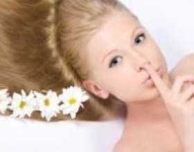 Як використовувати ромашку для волосся фото