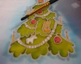 Як намалювати новорічну листівку? фото
