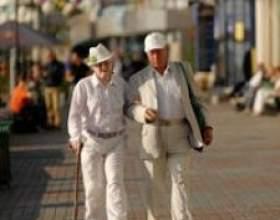 Як забезпечити здоров`я в старості, піші прогулянки і здоровий спосіб життя фото