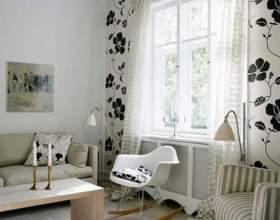 Як підібрати штори до шпалер? фото