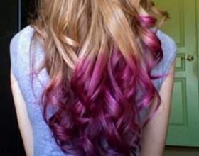 Як пофарбувати кінчики волосся? фото