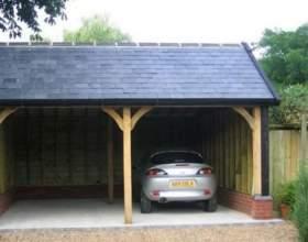 Як побудувати гараж своїми руками? фото