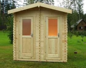 Як побудувати туалет на дачі? фото