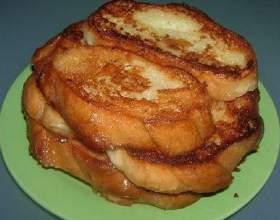 Як посмажити хліб? фото