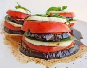 Як приготувати баклажани з помідорами? фото