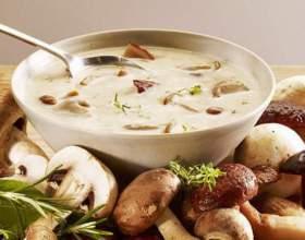 Як приготувати грибний суп? фото