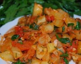 Як приготувати кабачки з помідорами? фото