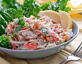 Як приготувати крабовий салат? фото