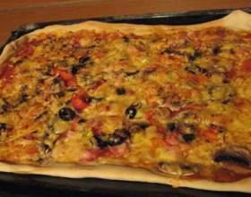 Як приготувати піцу в духовці? фото