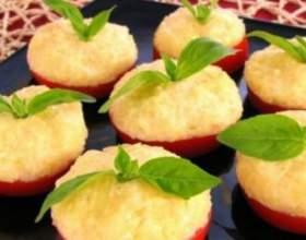 Як приготувати помідори з сиром? фото