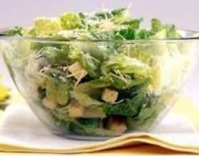 Як приготувати салат цезар фото