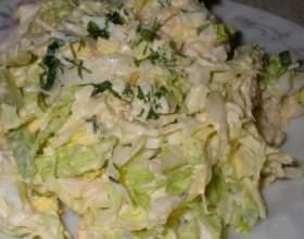 Як приготувати салат з капусти? фото