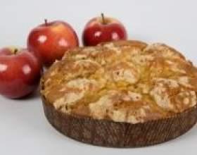Як приготувати шарлотку з яблуками фото