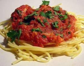 Як приготувати соус для спагетті? фото
