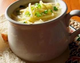 Як приготувати сирний суп? фото