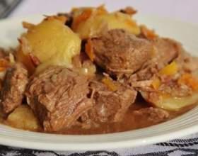 Як приготувати тушковане м`ясо? фото
