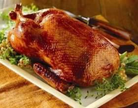 Як приготувати качку в духовці? фото