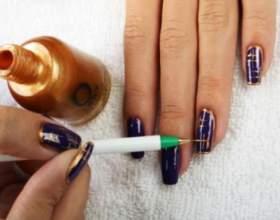 Як малювати голкою на нігтях? фото