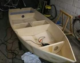 Як самому зробити човен? фото