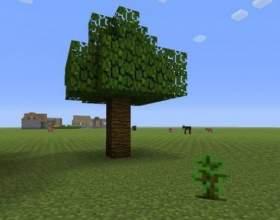 Як зробити дерево в майнкрафт? фото