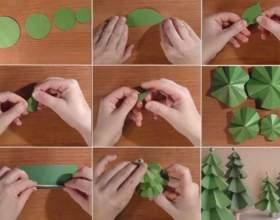 Як зробити ялинку своїми руками? фото