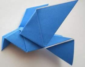 Як зробити голуба з паперу? фото