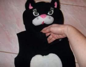 Як зробити костюм кішки? фото