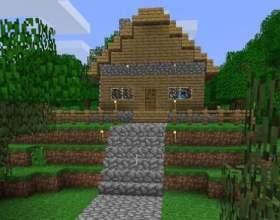 Як зробити гарний будинок в майнкрафт? фото