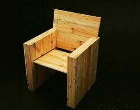 Як зробити крісло? фото