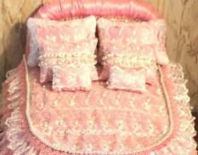 Як зробити ліжко для барбі? фото