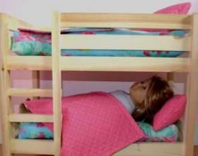 Як зробити ліжко для ляльки? фото