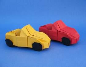 Як зробити машину з паперу? фото