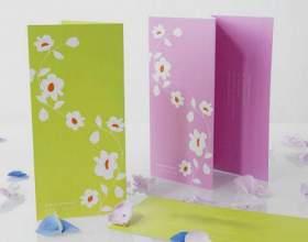 Як зробити листівку з паперу? фото