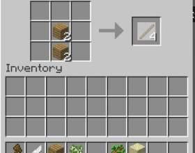 Як зробити палицю в minecraft? фото