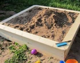 Як зробити пісочницю? фото