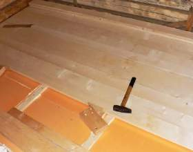 Як зробити підлогу в лазні? фото