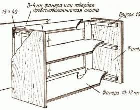 Як зробити шафку? фото