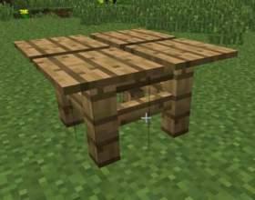 Як зробити стіл в minecraft? фото