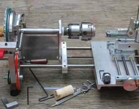 Як зробити токарний верстат? фото