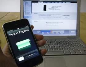 Як синхронізувати iphone? фото