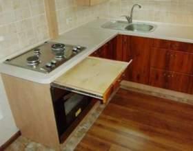 Як зібрати кухонний гарнітур? фото